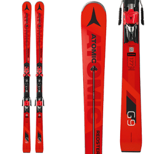 Atomic Redster G9: Black and red, for men.