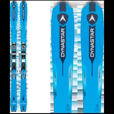 Dynastar LEGEND X80 : All Mountain. Pair de skis bleu électrique.