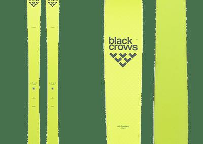 Black-Crows Orb Freebird: Backcountry, flashy yellow skis.