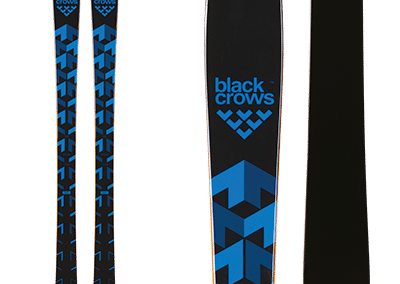 Black-Crows Vertis: Track skis, blue and black