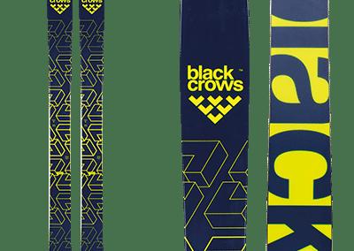 Black-Crows Atris : black and yellow skis