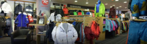 magasin mountain story vu de l'intérieur