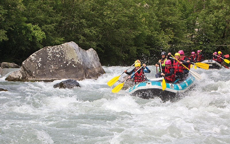 Expedition de Rafting