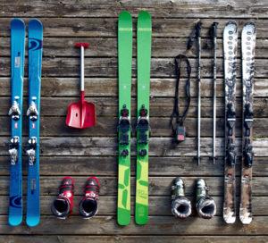 matériel de ski complet pour une famille