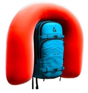 sac airbag gonflé