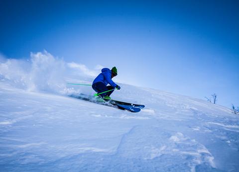 Matériel de ski loués sur les pistes