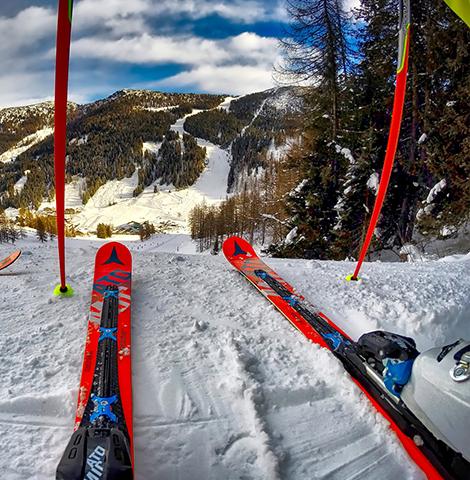 matériel de ski loué