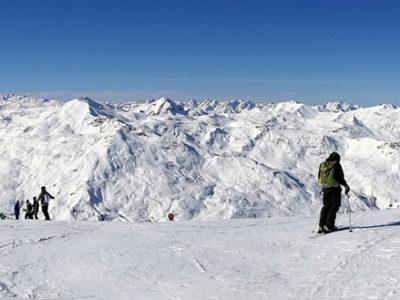 différentes pratiques du ski
