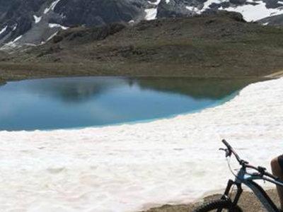 Lac de tignes en vtt