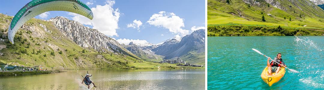 L'été à Tignes : des vacances sportives à la montagne
