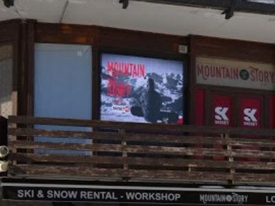 Mountain Story et skiset enseigne