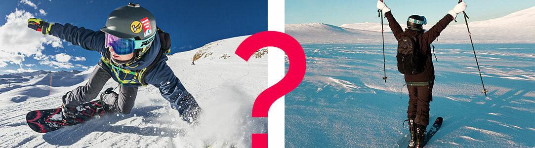 Ski ou snowboard : que choisir pour cet hiver ?