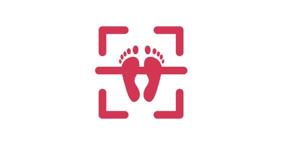 Picto des scanner de pied