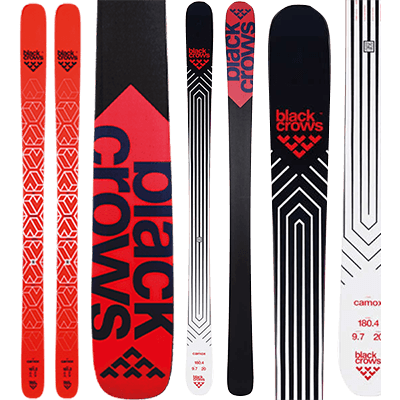 Skis de piste Mountain Story - Black Crows Camox série 2019 et 2020