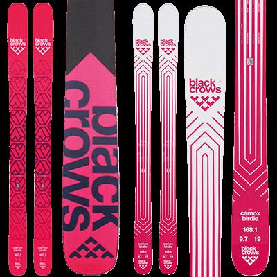 Skis de piste Mountain Story - Black Crows Camox Birdie série 2019 et 2020