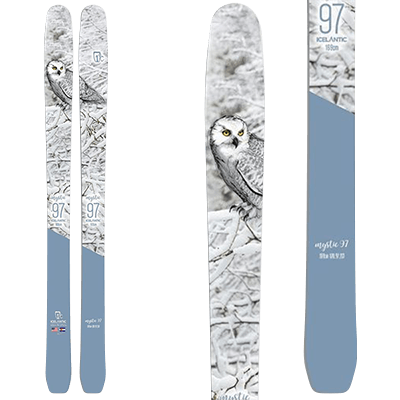 Skis Free ride Mountain Story - Icelantic Mystic 97