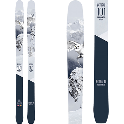Skis Free ride Mountain Story - Icelantic Natural 101