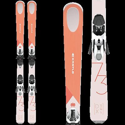 Skis de piste Mountain Story - Kastle DX73 femme