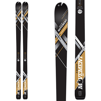 Skis Rando Mountain Story - Movement GoldFish X-series
