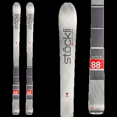 Skis All mountain de Mountain Story - Stockli Stormrider 88