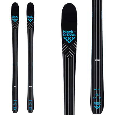 Skis All mountain de Mountain Story - Black Crows Vertis