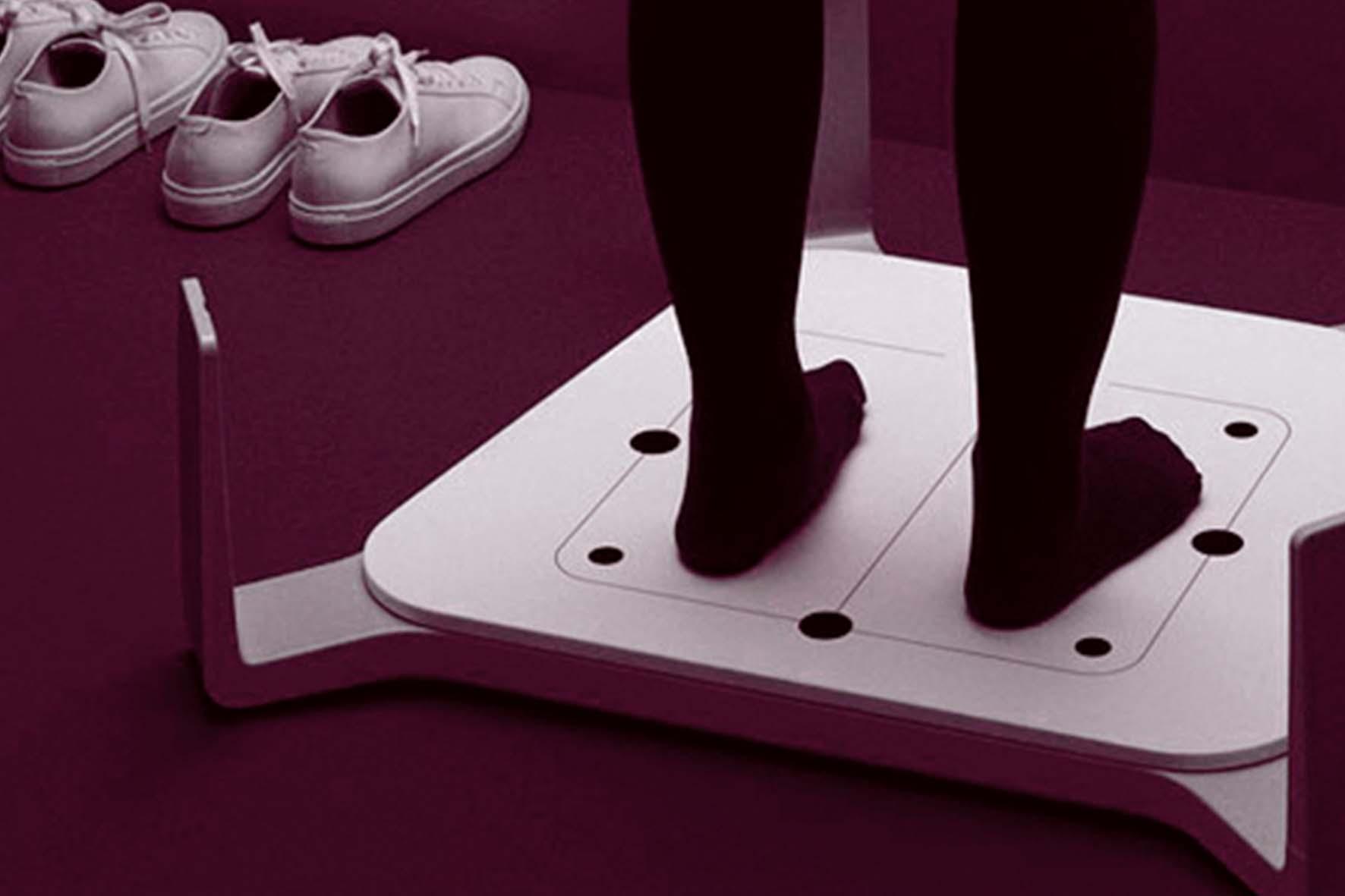 Avec la livraison Mountain Story, scannés vos pied pour un ajustement précis de votre matériel de ski.