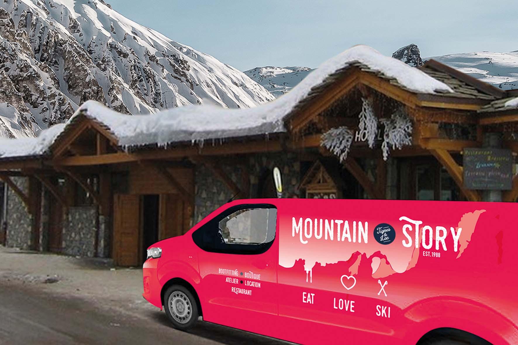 Sentez-vous libre jusqu'à la fin de votre séjour : Mountain Story récupère le matériel directement à votre logement.